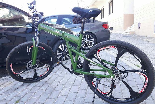 Bicicleta dobravel com 21v