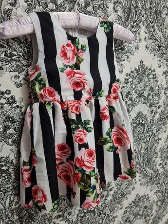 Нарядное платье для девочки. Праздничное платье