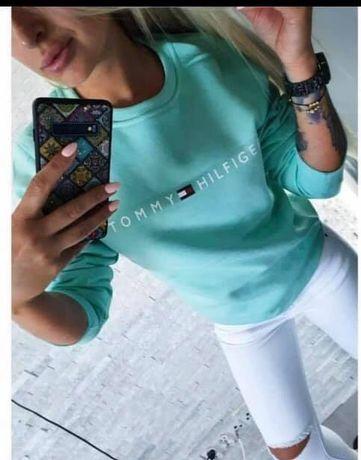Bluzy damskie S M L XL TH Tommy Hilfiger kolory