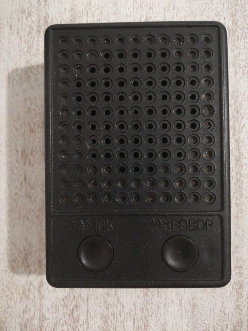 Домофон двухкнопочный, переговорное устройство ПУ 01.04.000
