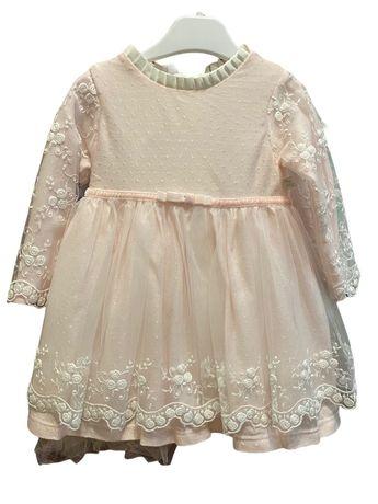 Платье нарядное рост 74 ,9-12 месяцев