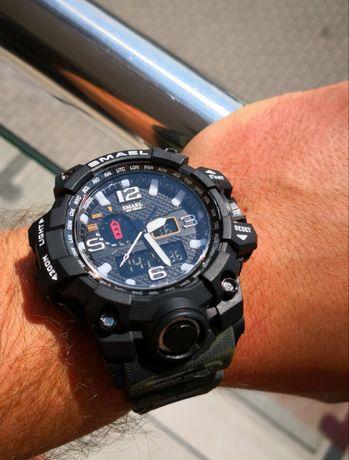 Sportowe zegarki męskie - kilka modelów, moro