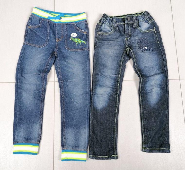 Spodnie jeansowe dla chłopca 5 - 6 lat Gortatowo - image 1