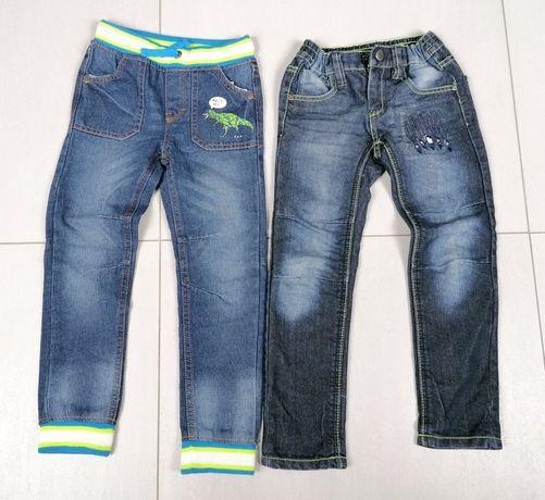 Spodnie jeansowe dla chłopca 5 - 6 lat