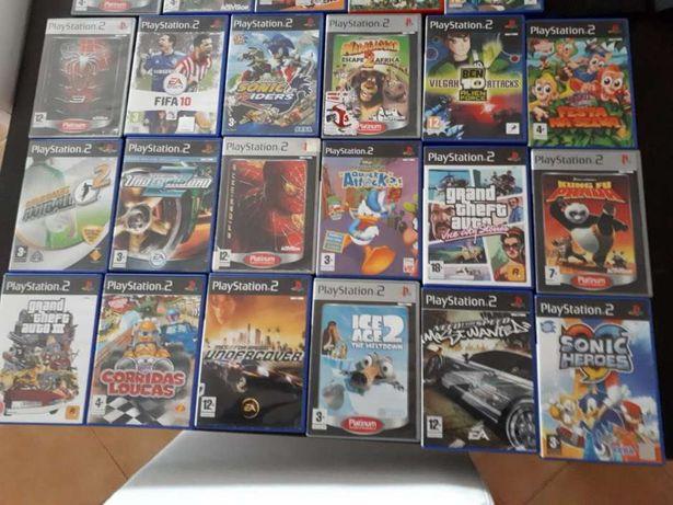 17 jogos Originais Playstation 2