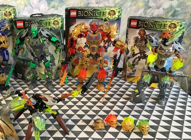 Лего Bionicle оригинал
