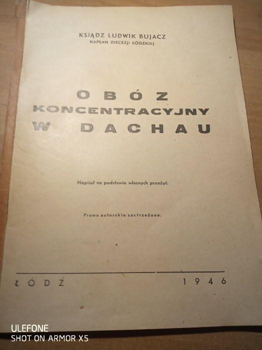 Ksiądz Ludwik Bujacz Obóz koncentracyjny w Dachau Truskaw - image 1