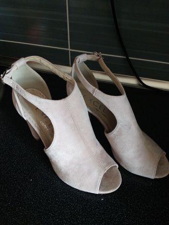 Sandałki z cholewką 38, 25 cm