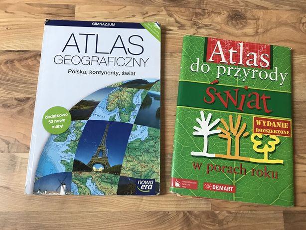 Atlas geograficzny atlas do przyrody nowa era pwn