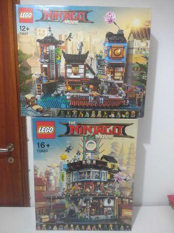 Lego Creator Expert Modular e Lego Ninjago Modular