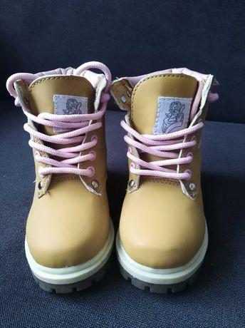 Buty dziecięce trapery roz.23 (roz.UK C5) dla dziewczynki MissFiori