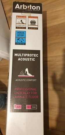 podkład pod panele 2mm Multiprotec Acoustic Arbiton 6 m 2