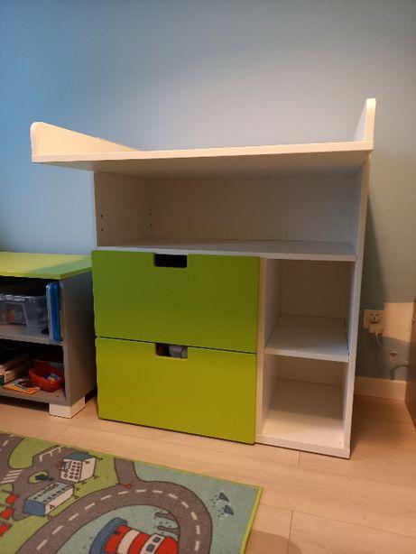 IKEA STUVA Przewijak, łóżeczko, szafa niska