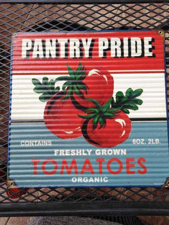 Tablica reklamowa  Tomatoes,