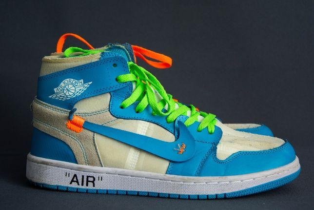 Кроссовки Nike Jordan 1 Off-White