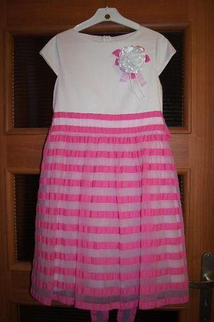 Sukienka dla dziewczynki rozmiar 152 stan idealny