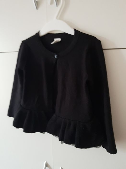 Gap sweterek czarny sweter rozm 92 Katowice - image 1