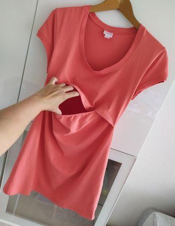 Bluzka tunika ciążowa L Boob 40 bawełna organiczna koszulka t-shirt