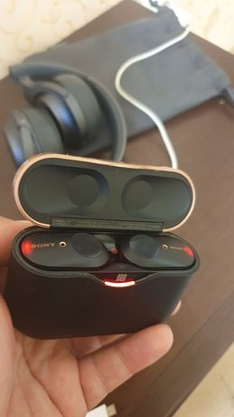 SONY WF-1000XM3 True Wireless Noise Cancelling Headphones.