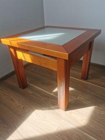 Stół drewniany kawowy