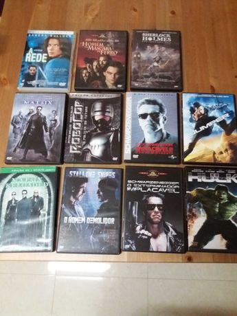Filmes dvds ação,ficção científica,Leve 2,pague 1,estado impecável