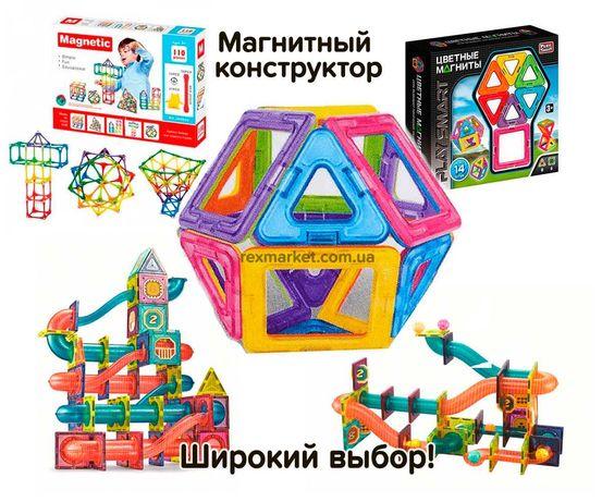NEW! Магнитный конструктор PlaySmart от 16-46дет лучшее качество Акция