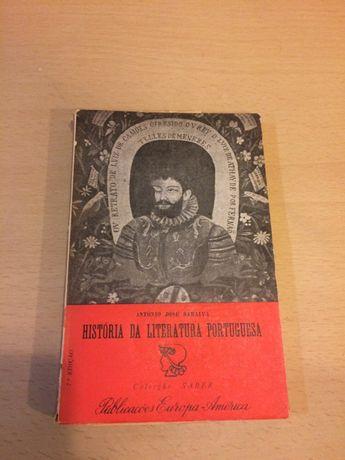 "Vendo livro ""História da Literatura Portuguesa"""