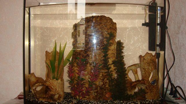 Аквариумный камень ракушняк ручной работы и камни из ракушняка