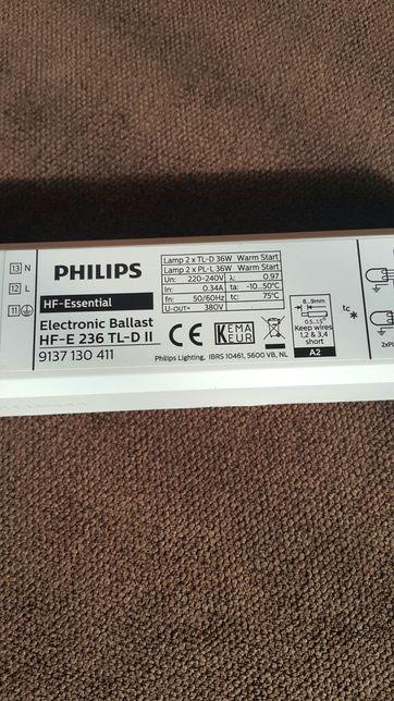 Philips Statecznik Elektroniczny Hf-E 236 Tl-D Ii 220-240V 50/60Hz