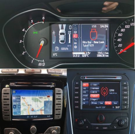 Ford convers + soft zmiana mocy nowe mapy Focus Mondeo S-MAX Galax