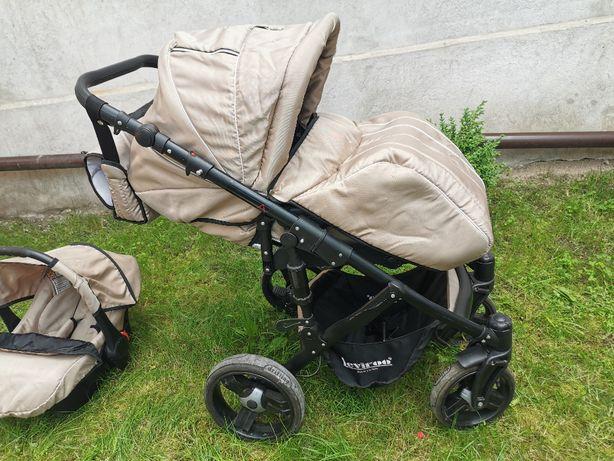 Wózek dziecięcy 3w1 plus dodatki
