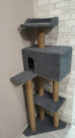 Когтеточки , игровые комплексы  для котиков ручной работы.