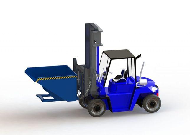 NTK 1600 L , uchylny kontener, producent