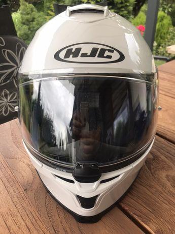 Kask motocyklowy HJC IS-17 pearl white rozm S stan B.db
