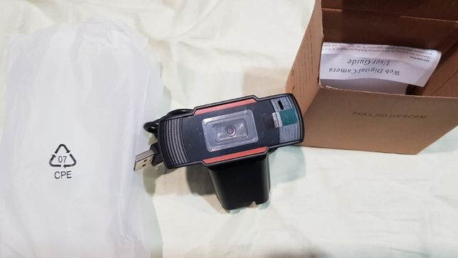 Kamerka internetowa NOWA FULL HD 1080P MIKROFON