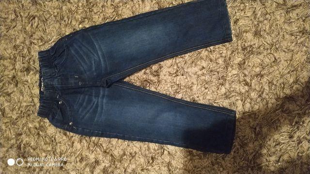 Spodnie 116/122 wąskie w pasie