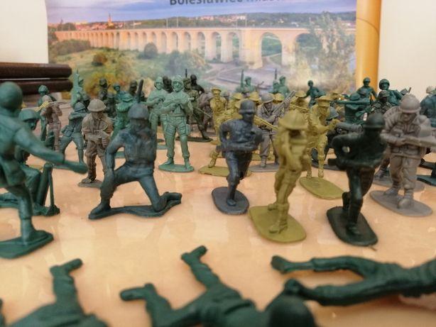 Armia żołnierzy gotowa do boju