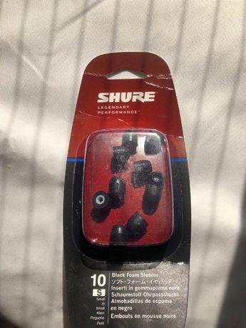 Продам пінні насадки для навушників і гарнітур Shure EABKF110S