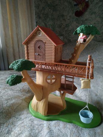 Домик на дереве sylvanian families