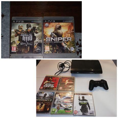 Konsola Playstation 3 ps3 pad gry