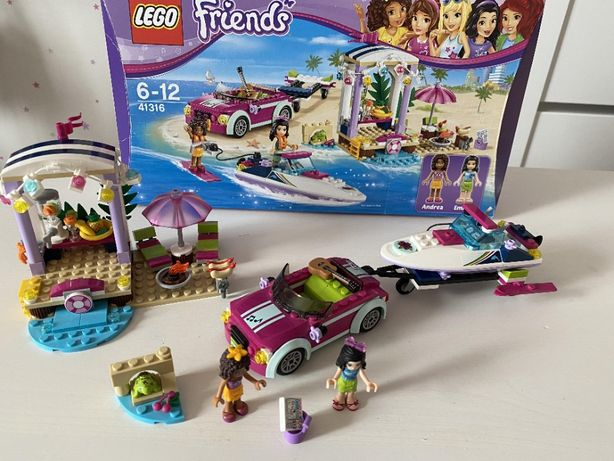 LEGO Friends 41316 - TRANSPORTER MOTORÓWEK ANDREI, super stan, cena