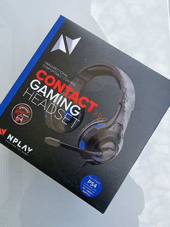 Auscultadores Gaming NPLAY contacto 2.0 (on Ear PS4) Selados