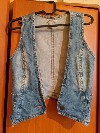 Kamizelka jeansowa MANGO r. XS