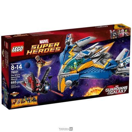 LEGO Ultra Agents Спасение Космического Корабля Милано (76021)