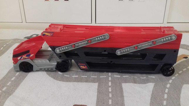 hot wheels transporter,ciężarówka laweta
