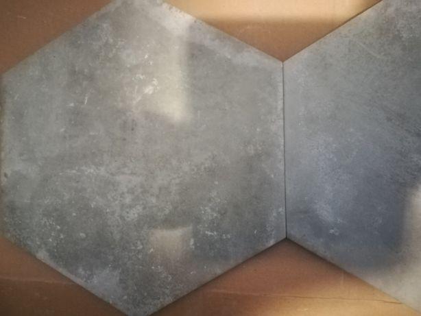 Płytki Urban Hexagon Silver (Hiszpańskie)