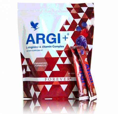 ARGI+ L-arginina naturalne witaminy zastrzyk energii NA SZTUKI SASZETK