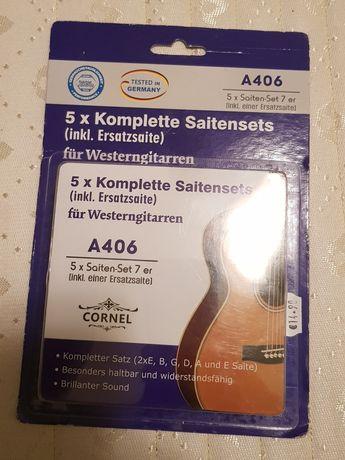 Struny gitarowe niemieckie CORNEL
