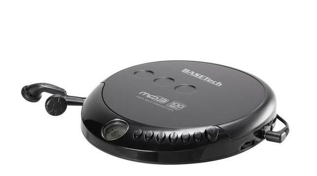 Odtwarzacz CD Basetech MPCD-122C Diskman Discman
