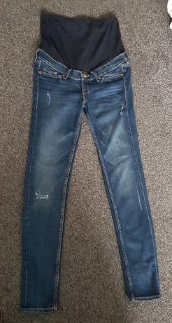 Spodnie jeansowe ciążowe H&M Mama rozm. 34